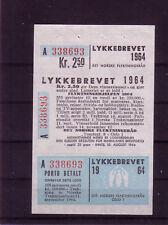 Norwegen Michelnr. 518 als komplett. Lotterielos postfrisch selten(europa:12751)