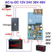 AC-DC Battery Charging Protection Board 12V 24V 36V 48V Control Switch Module