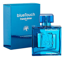 Blue Touch By Franck Olivier 3.3/3.4oz. Edt Spray For Men New In Box