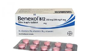 Bayer Benexol B12 (Vitamin B1-B6-B12) 50 Tablets