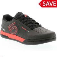 Fiveten Freerider Pro Mountain Bike MTB Flat Pedals Shoes Black Red UK 10 EU44.5