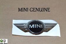 Mini Cooper Emblem 'MINI' Rear Hatch Decklid BRAND NEW Genuine 51 14 7 026 186