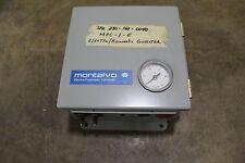 MONTALVO MPC-1-E ELECTRO/PNEUMATIC CONVERTER 110V 110 V VOLT 1PH 1A 1 A AMP