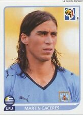 N°074 MARTIN CACERES # URUGUAY STICKER PANINI WORLD CUP SOUTH AFRICA 2010