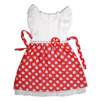 New Girls Dotted Party Dress in Pink, Orange  8-9 9-10 10-11 Years