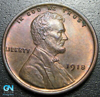 1918 P Lincoln Cent Wheat Penny  --  MAKE US AN OFFER!  #P5281