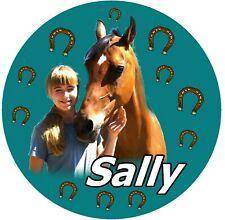 Your Horse Personalised Large Souvenir Fridge Magnet / Photo / Name / Gifts