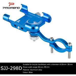 PROMEND Aluminum 360 Degree Universal Bike Phone Holder Mount Stand Bracket