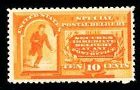 USAstamps Unused FVF US 1893 Special Delivery Scott E3 OG MVLH