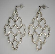 Chandelier Stud Earrings, Sterling silver