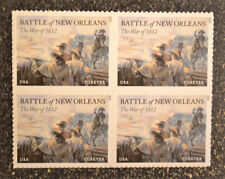 2015USA #4952 Forever - Battle of New Orleans Block of 4 Mint NH  war of 1812