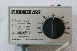 Siemens Arnold Trafo 4AA2608