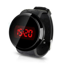 Touch Screen LED Electronic Smart WaterProof Pressure Watch Bands For Man,Women