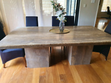 Travertine Stone Dining Table 8 x seater