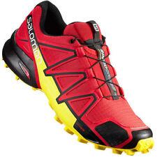 Scarpe sportive running rosso Salomon
