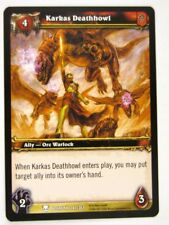 WoW: World of Warcraft Cards: KARKAS DEATHHOWL 247/361 - played