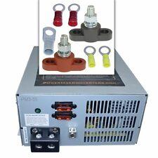 Powermax converter pm3-55 RV battery charger kit with junction blocks 55 amp 12v