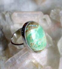 Ring mit Variscit, 925er Silber, Gr 15,8 - Variszit -