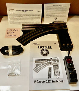 Lionel 6-14063 RH Or LH 614062 You Choose Remote Control O Guage Switch 022 214M
