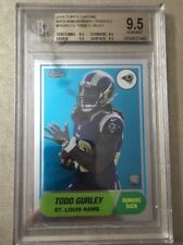 2015 Topps Chrome 60th Anniversary Rookies Todd Gurley rc BGS 9.5