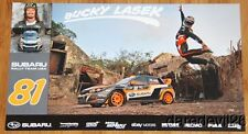 2014 Bucky Lasek Subaru Rally Team Impreza WRX STi Global RallyCross postcard