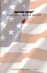 Miami Heat--2001-02 Media Guide