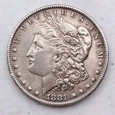 1881 MORGAN SILVER DOLLAR 90% SILVER $1 COIN US #L111