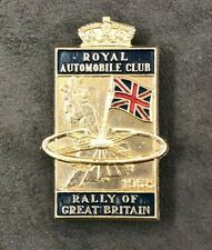 RAC ROYAL AUTOMOBILE CLUB RALLY OF GREAT BRITAIN 1955 CAP BADGE