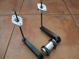 INDY RACE CAR G FORCE PANOZ SPEEDWAY NOSE WING ANGLE ADJUSTMENT ARMS PIVOT LINKS