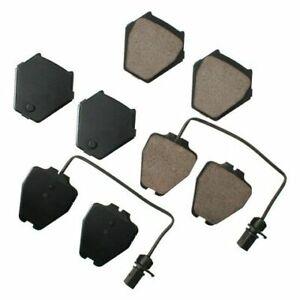 Akebono EUR839 Akebono EURO Ultra Premium Ceramic Disc Brake Pad Kit