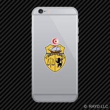 Tunisian Coat of Arms Cell Phone Sticker Mobile Tunisia flag TUN TN