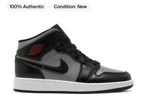 Nike Air Jordan 1 Mid Shadow Red (TD) Size 7c 640735-096 NIB