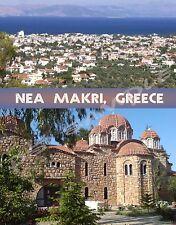 Greece - NEA MAKRI - Travel Souvenir FLEXIBLE Fridge Magnet