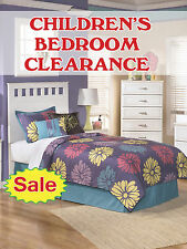 "Children's Bedroom Clearance Sale Retail Display Sign, 18""w x 24""h, Full Color"