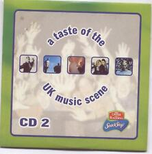 A TASTE OF THE UK MUSIC SCENE CD2: 5 TRACK CD (1999) ULTRA NATÉ, HAPPY MONDAYS
