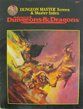 Dungeon Master Screen & Master Index Advanced D&D 9504 INDEX ONLY 1995 Book