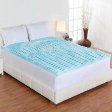 Foam Full Size Mattress Topper 2 Inch Premium Orthopedic Pad Bed Protector New
