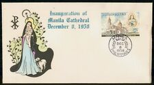 Mayfairstamps Philippines FDC 1958 Manila Cathedral Inauguration First Day Cover