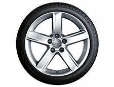 Aluminium A4 Wheels with Tyres