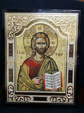 Jesus Christ Greek Byzantine Orthodox Icon 33x26cm