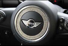 Car Steering Wheel Bling Diamond Ring Sticker Decal for Mini Cooper R55 R56 R60