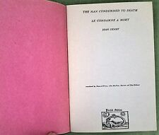 "Jean Genet ""The Man Condemned to Death"" #270/300 Diane di Prima Jean Cocteau"