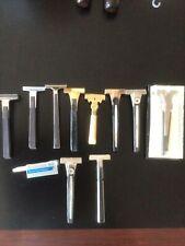 Vintage Razor Lot of (10) Schick Shaving Razors