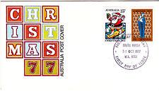 1977 Christmas FDC - South Perth WA 6151 PMK