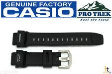 CASIO Pathfinder PRO TREK PRG-260 Black Rubber Watch BAND PRG-550 PRW-3500