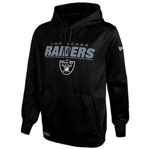 New Era NFL Men's Las Vegas Raiders Stated Pullover Performance Hoodie