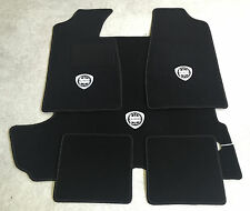 Autoteppich Fußmatten Kofferraum Set für Lancia Fulvia Coupe weiss 5teilig Neu