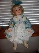 """Designer Guild Collection ~ Vintage 1996 LE Porcelain Janine 24"""" Doll"""