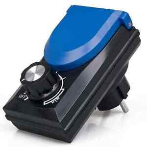 Osaga Leistungsregler ODR-800 Drehzahlregler Drehzahlsteller Pumpen Regler