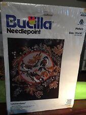 New Bucilla #4308 Chickadee Cross Stitch Kit Picture
